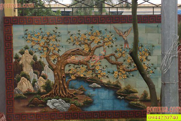 Bức tranh tứ quý đẹp nhất trang trí tường