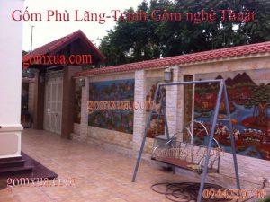 Bán tranh gốm đẹp nhất giá rẻ tại Nam Định
