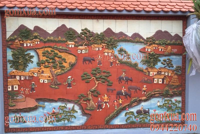 Bán tranh gốm đẹp nhất giá rẻ tại Quảng Ninh