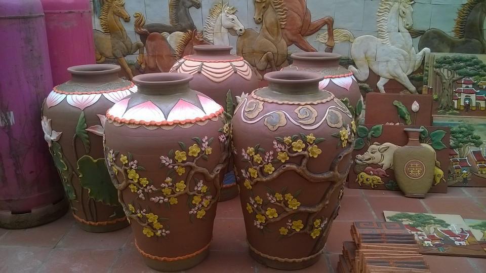 Sản phẩm gốm Phù Lãng
