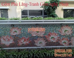 Cách đặt mua tranh gốm tại Sài Gòn